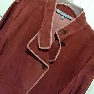 🔥ANNE KLEIN LEATHER/SUEDE JACKET